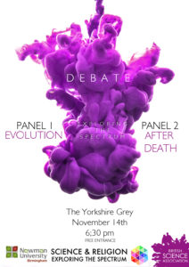 Science and Religion at the Yorkshire Grey November 14th at 6:30 PM